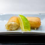 蓮心 - 津居山ずわい蟹の春巻き ハニーライム