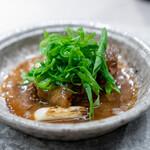 蓮心 - すっぽん鍋 なんば葱