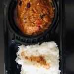 欧風料理 アンダンテ - 料理写真:スパイシーキーマカレー¥750