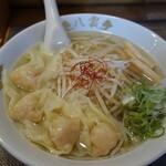 麺匠 八雲 - 料理写真:海老ワンタンメン