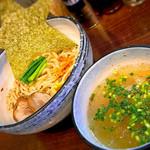 麺場ながれぼし - 【限定】担担キノコの冷や冷や和えつけ(1000円)