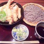 13058237 - ざる蕎麦&海鮮天丼