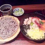13058238 - ざる蕎麦&北海道海鮮丼