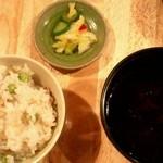 13058272 - 豆ごはん(土鍋炊き)