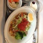 武蔵野茶房 - ピリ辛チリご飯:ランチ