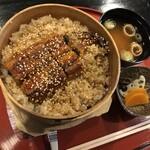 料理旅館 田事 - 国産うなぎせいろめっぺめし