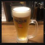 Kannaigyouzaken - 生ビール 380円