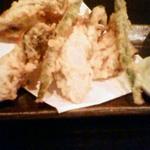 酒菜 ひより - 牡蠣の天ぷら