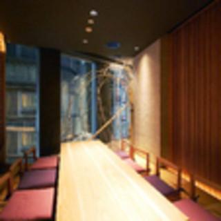 接待にも!夜景の見える個室あります。
