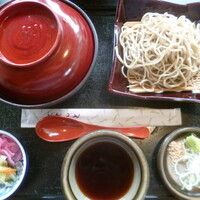 蕎麦の庄 長命庵-'20/05/24 かつ丼セット~もりそば(920円+税)