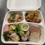 La retta - 惣菜BOX、1000円でこんなに種類❣️