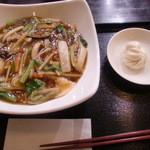 宋さんの飲茶 - 201203あんかけ焼きそばランチ