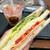 タリーズコーヒー - 料理写真:HLTサンドイッチ