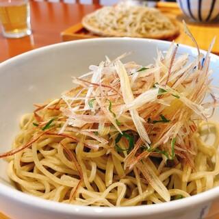 七つ海堂 - 料理写真:みょうが蕎麦