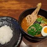 シャンティ - 【2020/5】チキンと野菜のスープカリー全景