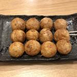 会津屋 - 元祖たこ焼き(小皿)