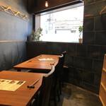 梅田肉料理 きゅうろく - 店内