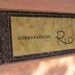 トレファツィオーネリオ - お洒落な看板。
