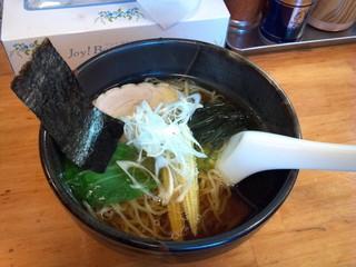 らーめんかなめ - 酒々井ラーメン(麺に甲子政宗の酒粕入り)