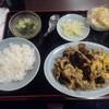 順香 - 料理写真:日替定食(豚肉と卵とキクラゲの炒め物)