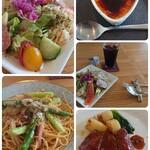のんびりや食堂 - 料理写真:Aコースコラージュ
