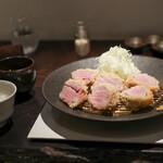 カツレツMATUMURA - 雪室熟成豚フィレ肉定食☆