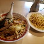 大勝軒 - 野菜入りつけ(醤油)