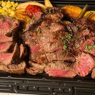 美味しい肉!!をテイクアウト!究極の肉盛り!