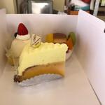 カスタード - たまには手土産でケーキ