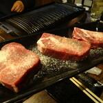 焼肉 縁 - ◆ 厚切りタンステーキ