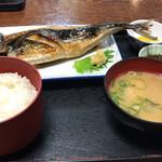 かねまつ - 焼鯖定食