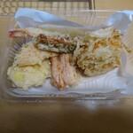 菜の華 - 料理写真:テイクアウト天ぷら 380円