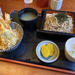 そば順 - 蕎麦&天丼全景