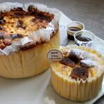 GAZTA - バスクチーズケーキ+ホワイトチョコレートバスクチーズケーキ