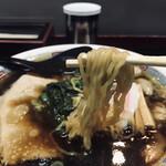 ますや - 縮れ麺