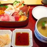 京ぜん - 料理写真:生ちらし寿司