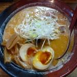 麺屋 天 - 玉子入りとんこつ辛味噌(850円)