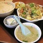 13065463 - 肉野菜炒め定食