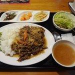 うま豚 - プルコギ丼定食650円