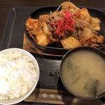 養生食堂 - 料理写真:豚キムチ定食700円