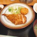 勝利軒食堂 - 鳥の味噌漬け焼き