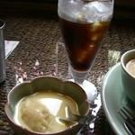 13066741 - デザートとアイスコーヒー
