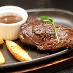 130667073 - 牛ハラミの塊肉ステーキランチ(150g) 1380円