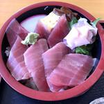 ゴチソウドコロカネハチ - 「極上鉄火丼」1210円