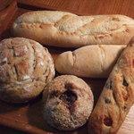 ラボ・フィセル - 買ったパンたち