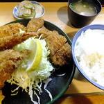 とんかつ春 - スペシャル定食¥1,050