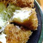 とんかつ春 - スペシャル定食のクリームコロッケ