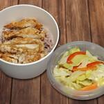 清泉寮 ファームショップ - テイクアウト/野菜の塩麹炒めと山賊焼ランチ