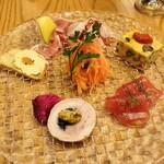 フルエンテ - 前菜6種