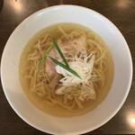 手打ち麺 やす田 - イリコ塩¥750
